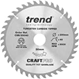 Trend CSB//AP25480 CRAFT BLADE TCP 254 X 80T X 30