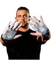 Bear KompleX Carbon Comp 3 hole hand grips and gymnastics grips Great for CrossFit, pullups, weight lifting, chin ups, training, exercise, kettlebell, more. Protect your palms from rips! CARBON