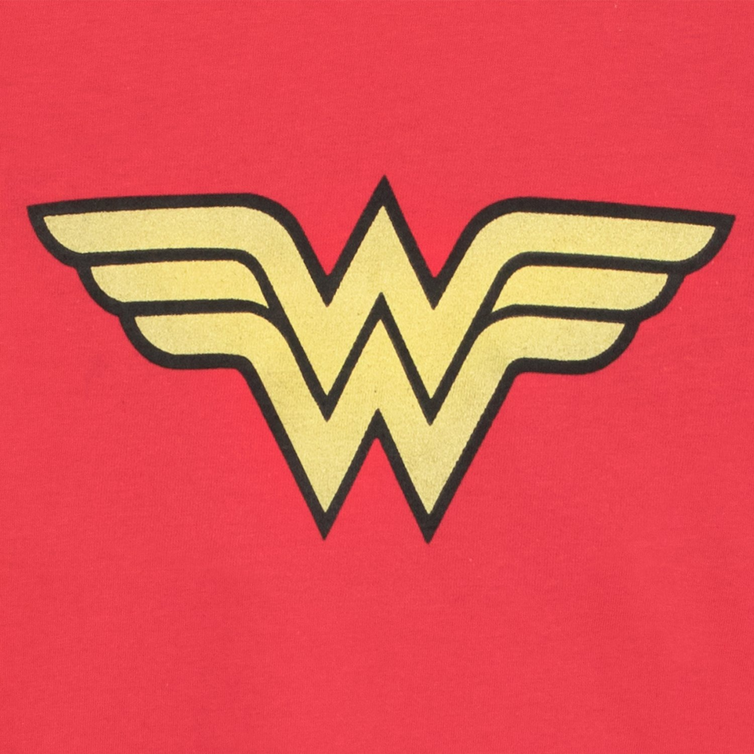 Wonder Woman Girls T-Shirt Ages 3 to 10 Years