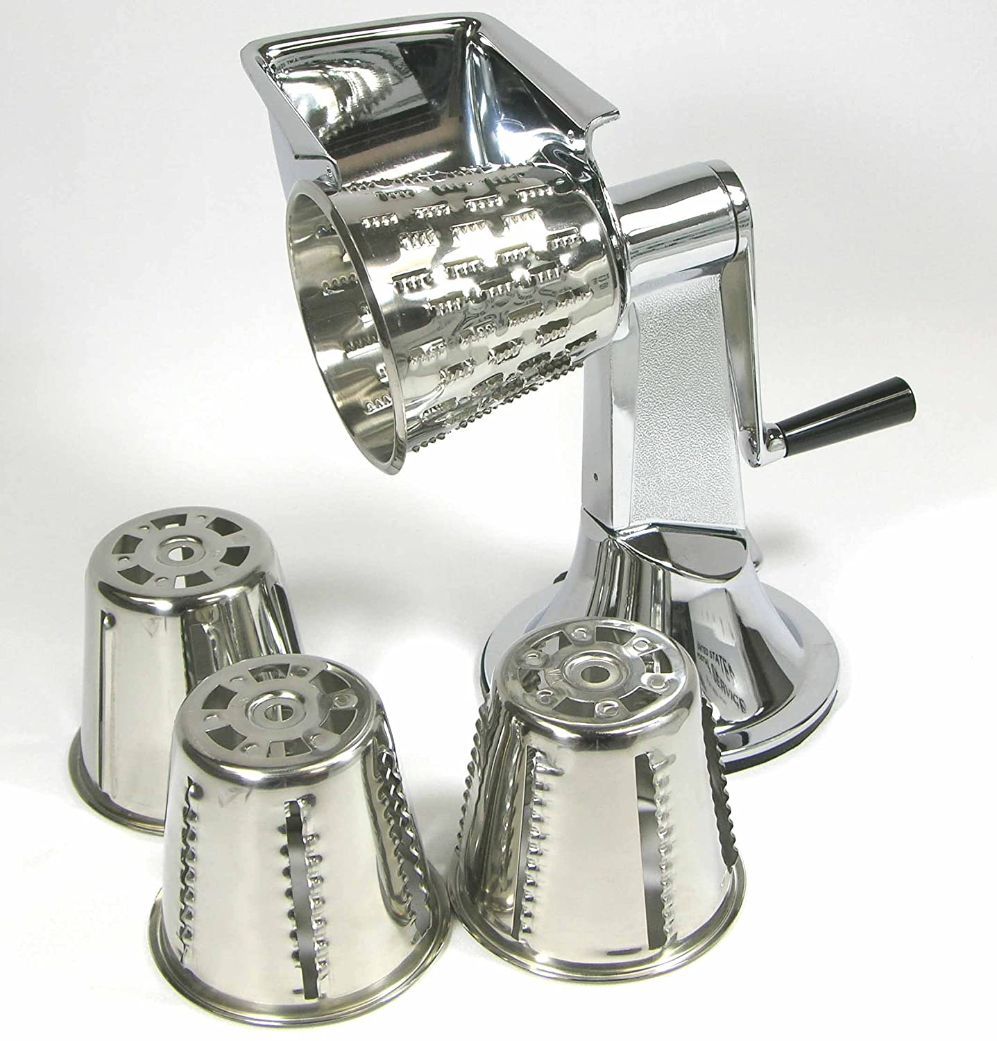 Lustre craft kitchen kutter - Amazon Com West Bend Stainless Steel Kitchen Kutter And Cones Cutter Includes 4 Cones Manual 1179 Kitchen Dining