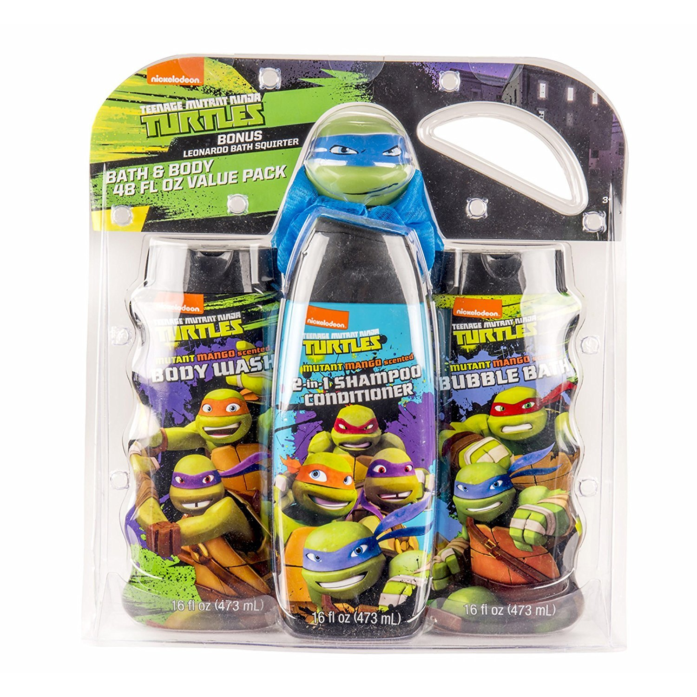 Amazon.com: Teenage Mutant Ninja Turtles Bath and Body Value ...