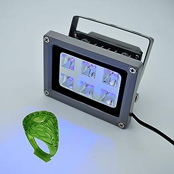 Amazon.com: Luz de curación de resina UV para impresoras 3D ...