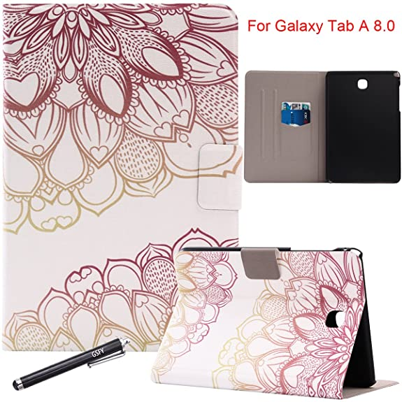 Amazon galaxy tab a 80 case newshine auto wake upsleep ultra galaxy tab a 80 case newshine auto wake upsleep ultra slim synthetic leather mightylinksfo