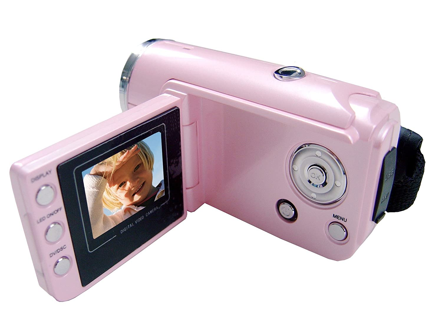 mustek dv316l digital camcorder pink amazon co uk camera photo rh amazon co uk  Mustek DV526L