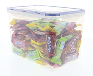 LAFFY TAFFY bulk in an EasyLock airtight, watertight, and stackable container (4 LB)
