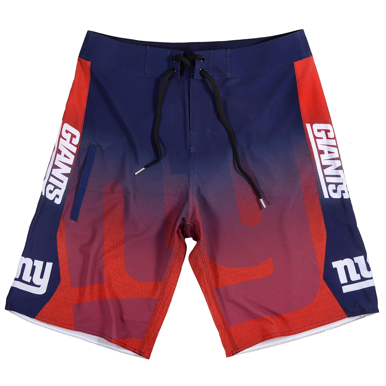New York Giants Gradient Board Short Large 34