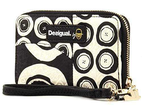 475cfabce5 Desigual Portafoglio Mini Zip Black And White: Amazon.it: Scarpe e borse