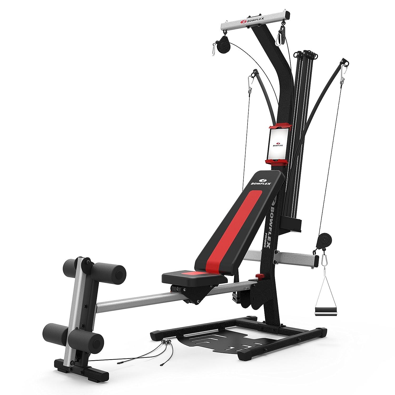 Bowflex PR1000 100661 -Multiestación maquina de musculación | 95 kg de resistencia | Mas de 25 ejercicios | Musculación | Maquina de remo Leg / Curl ...