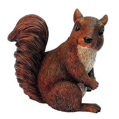 Michael Carr Designs 508001 Squirrel : Outdoor Statues : Garden & Outdoor