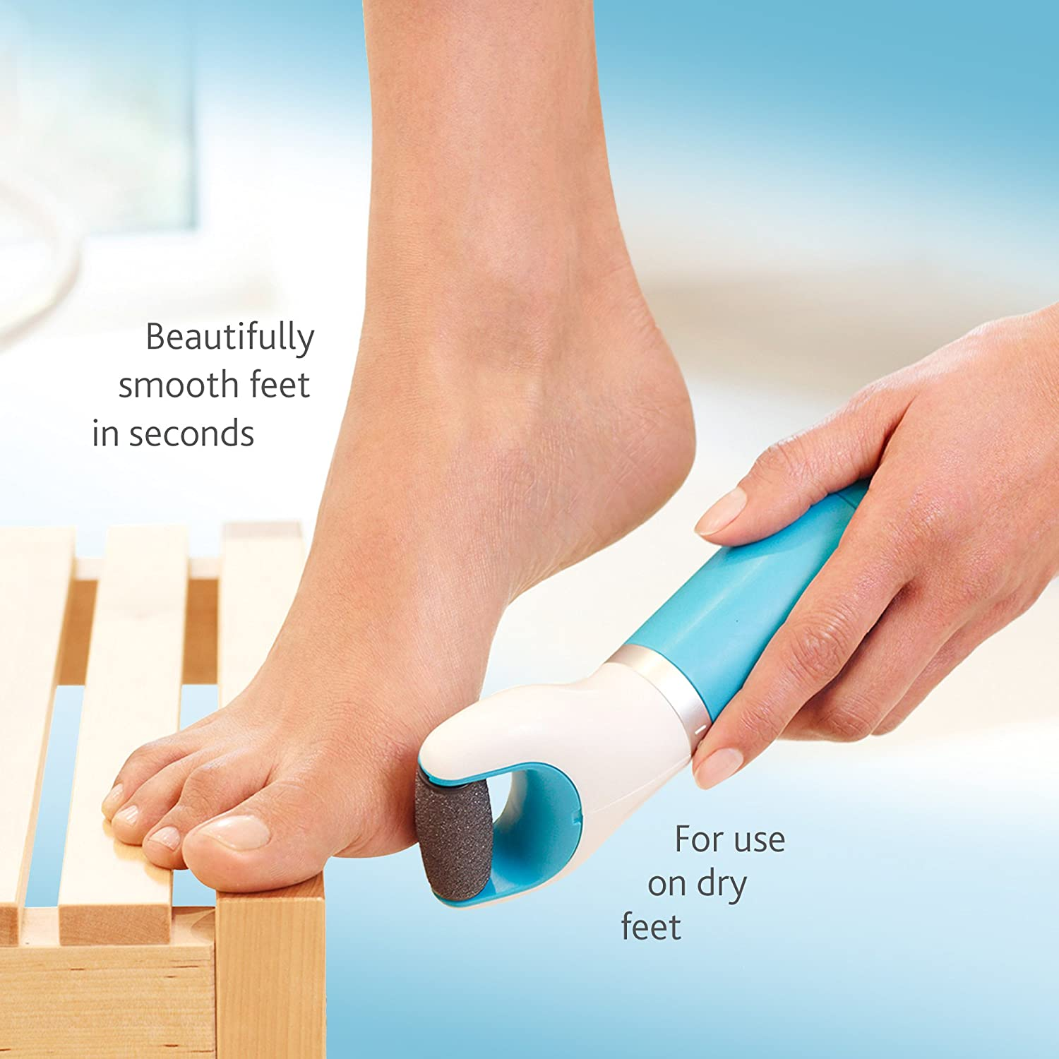 Amazon: Amop� Pedi Perfect Electronic Foot File With Diamond Crystals:  Health & Personal Care