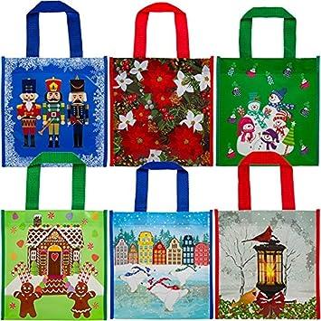 Amazon.com: Revestimiento de plástico bolsas de regalo de ...
