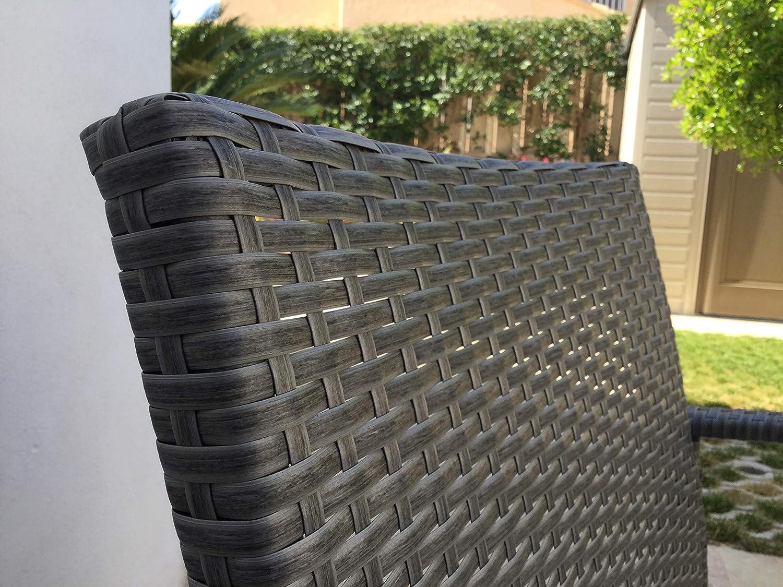KitGarden - Conjunto Muebles Terraza/Jardín Imitación Ratán ...