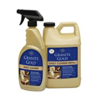 Granite Gold Granite Cleaner 24 oz. Spray & 64 oz. Refill Deals