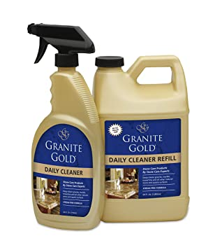 Granite Gold Daily Cleaner Spray – Streak-Free Stone Cleaning Formula