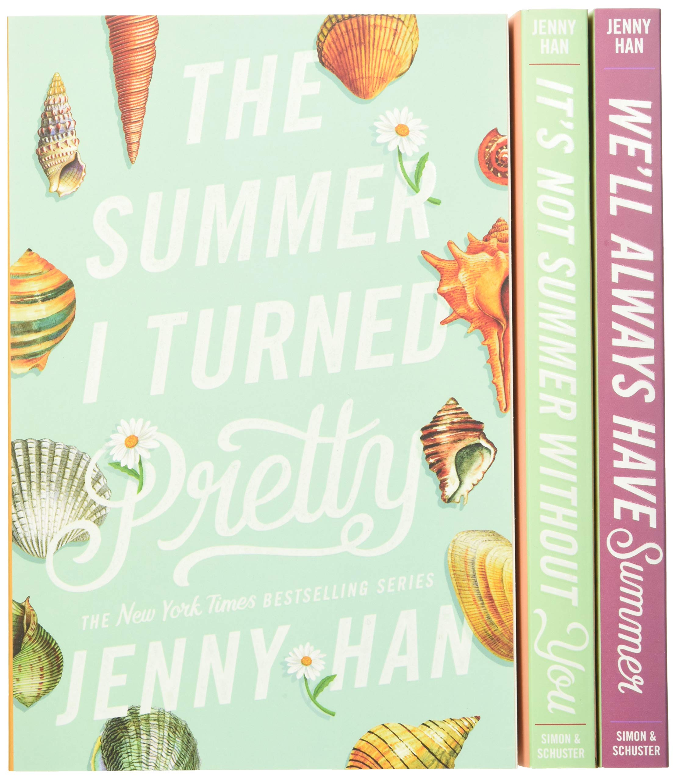 The Complete Summer I Turned Pretty Trilogy Amazon Co Uk Han Jenny Books