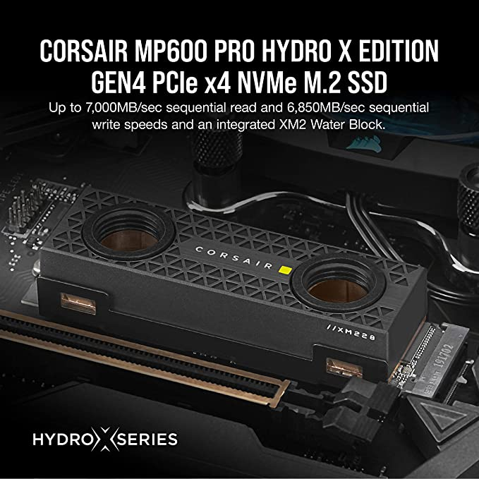 Corsair Mp600 Pro Hydro X Edition Gen4 Pcie X4 Nvme M 2 Computer Zubehör