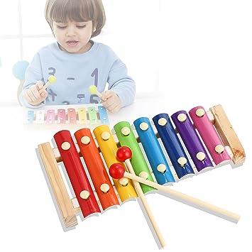 Erzeugen Perfekt Glockenspiel für kleine Musiker Holz Xylophon für Kinder
