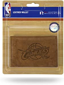 Rico Industries NBA Atlanta Hawks Leather Trifold Wallet with Man Made Interior