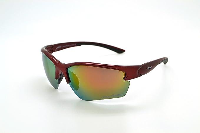 c487cc468dfc VertX Polarized Lightweight Durable Mens   Womens Athletic Sport Sunglasses  Cycling Running w FREE Microfiber