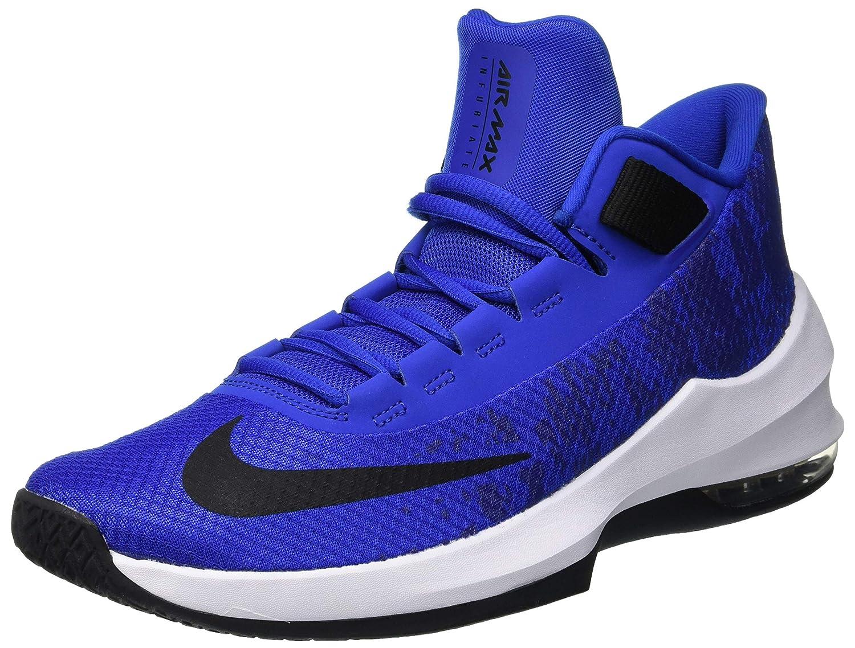 Guld (Game Royal  svart svart svart  vit 400) Nike herrar Air Max Infuriate 2 Mid Basketball skor  välkommen att välja
