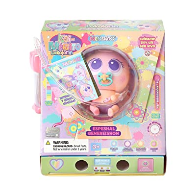 Distroller Special Edition Ksimerito Nerile Neonate Doll Model ANAROUS Petunia Bloom KOLOREENIES Edition in Spanish by: Toys & Games