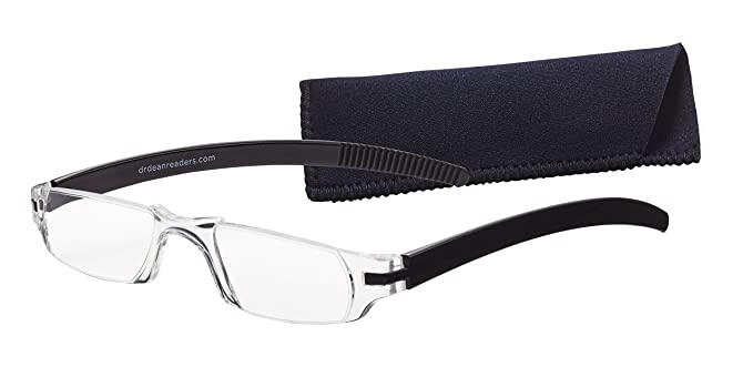 164d065d6477 Dr. Dean Edell Slim Vision Reading Glasses, Black (+2.50): Amazon.in:  Health & Personal Care