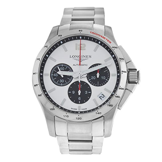 Longines Conquest swiss-automatic Mens Reloj L36974066 (Certificado) de segunda mano