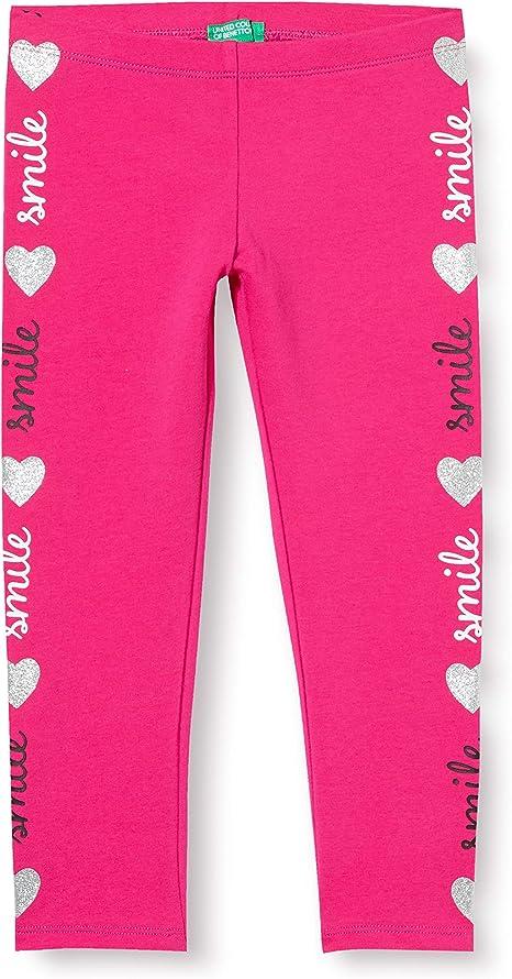 Dato ensayo Contrato  United Colors of Benetton 3CY4I02HP Leggings, Rosa (Pink Peacock 2l3),  98/104 (Taglia Produttore: XXS) Bambina: Amazon.it: Abbigliamento