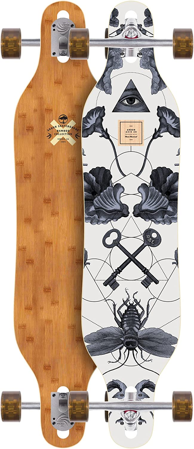 Arbor Axis Bamboo Series Longboard Complete 40