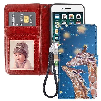 Amazon.com: Ladybug - Funda tipo cartera para iPhone 6 (piel ...