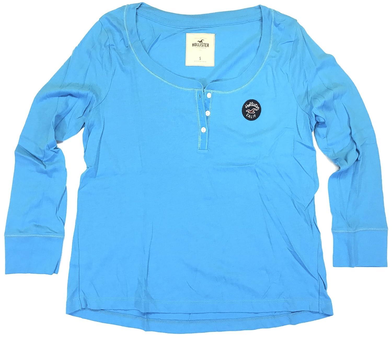 hollister blue t shirt