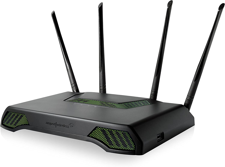 Amped Wireless Titan - High Power AC1900 Wi-Fi Router (RTA1900)