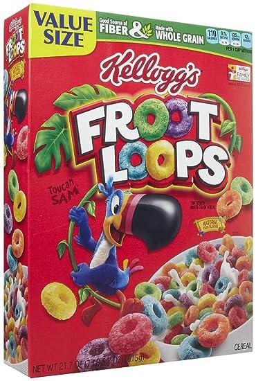 Kellogs Froot Loops 217 Ounce Box 1