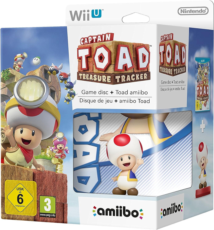 Captain Toad: Treasure Tracker + Amiibo Toad: Amazon.es: Videojuegos