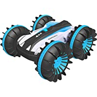 Bright Platinum RC Car/Boat Remote Control Cars Pool Water Kids Toys for Boys Girls Gift Off Road Rock Crawler 2.4G 4WD…
