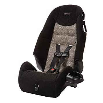 5 Point Harness Booster >> Amazon Com Cosco Highback 2 In 1 Booster Car Seat 5 Point