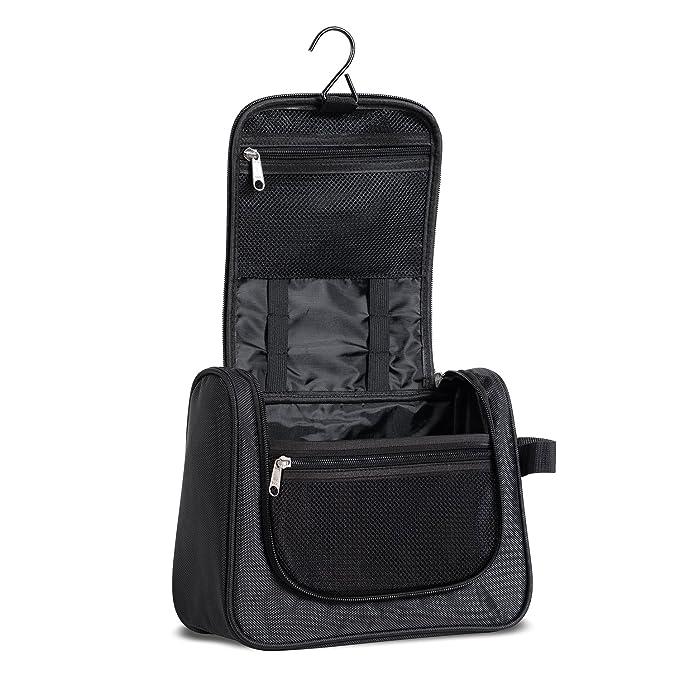 2a060ce7d96b Amazon.com: Hanging Toiletry Bag for Men & Women, Toiletries Bag for ...