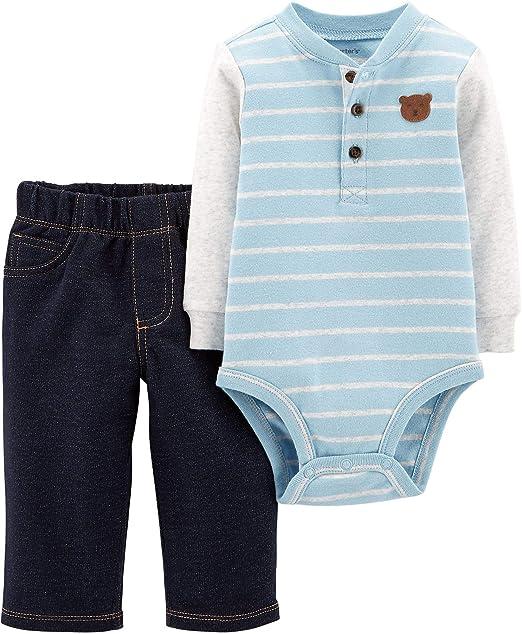 5bc97081db9d Amazon.com  Carter s Baby Boys  Bodysuit Pant Sets 121h164  Clothing