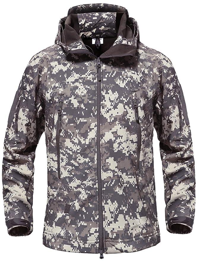 31 opinioni per TACVASEN Giacca Militare Softshell da Uomo Outdoor Impermeabile Cappotto