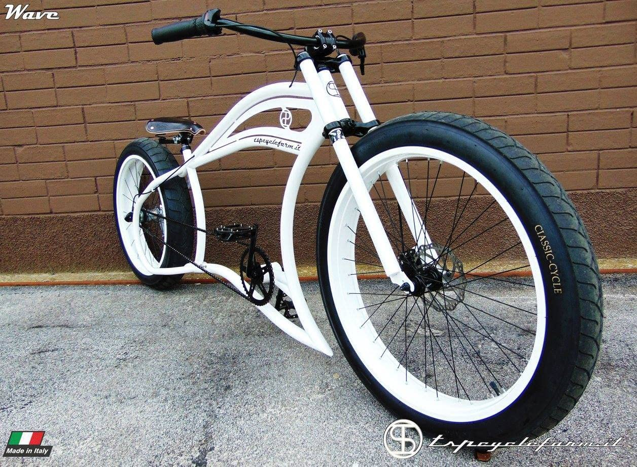 Cicli Ferrareis - Fat Bike Cruiser Custom Garage: Amazon.es ...