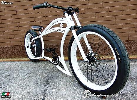 Fat Bike Cruiser Custom Garage Amazonit Sport E Tempo Libero