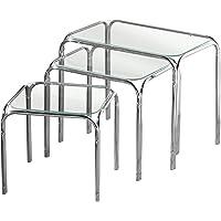 Premier Housewares - Juego de 3 mesas auxiliares