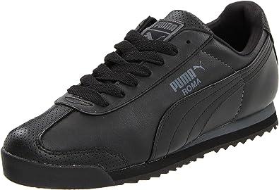 Puma Men's Roma Pso Fashion Sneaker,Black/Dark Shadow,8US/ ...
