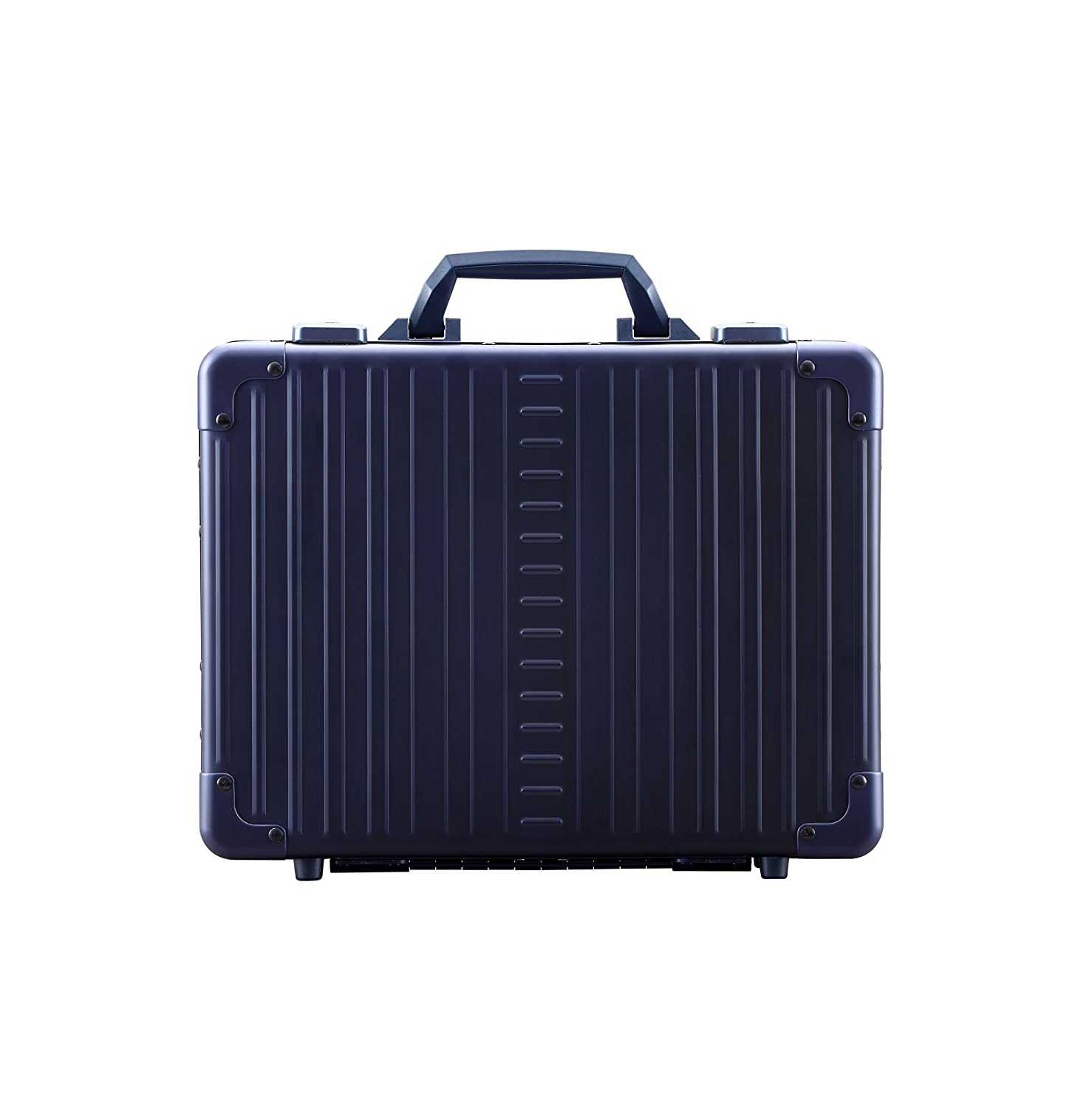 Image of Aleon Aluminum 3.5' Business Attache Case w/ Shoulder Strap Luggage