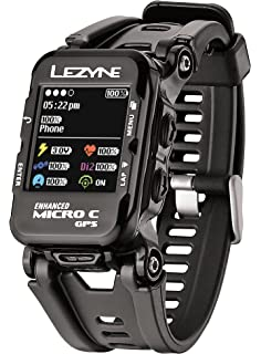 088162a94 Lezyne Micro Color GPS Watch Black, One Size by Lezyne
