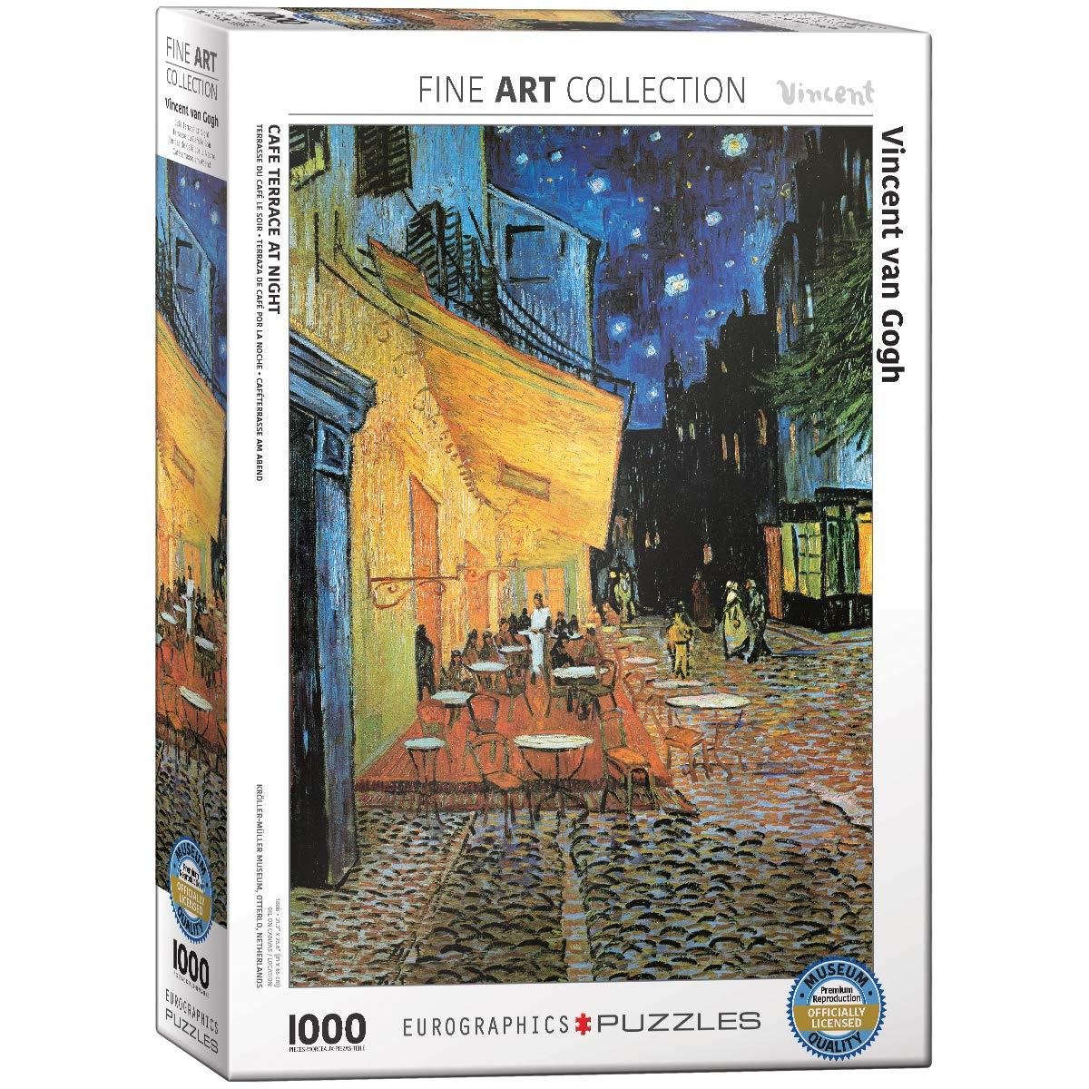 EuroGraphics Van Gogh Cafe at Night 1000 Piece Puzzle