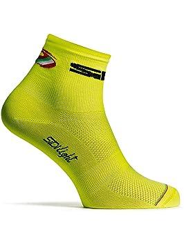 Sidi Calcetines Mtb Color Amarillo Fluorescent (S/M, Amarillo): Amazon.es: Deportes y aire libre