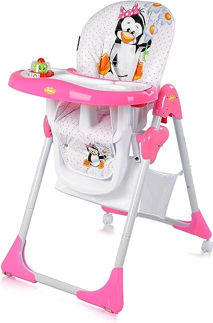 Chaise haute réglable evolutive pour bébé yam yam Lorelli