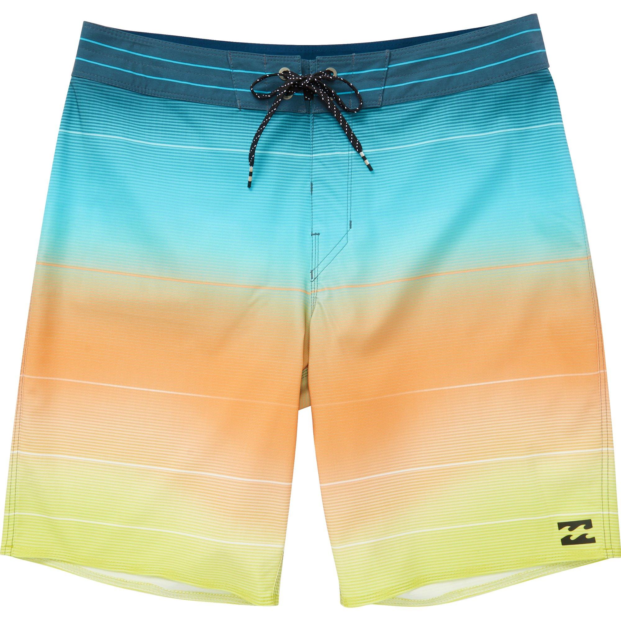 Billabong Men's Fluid Airlite Boardshorts Mint 28
