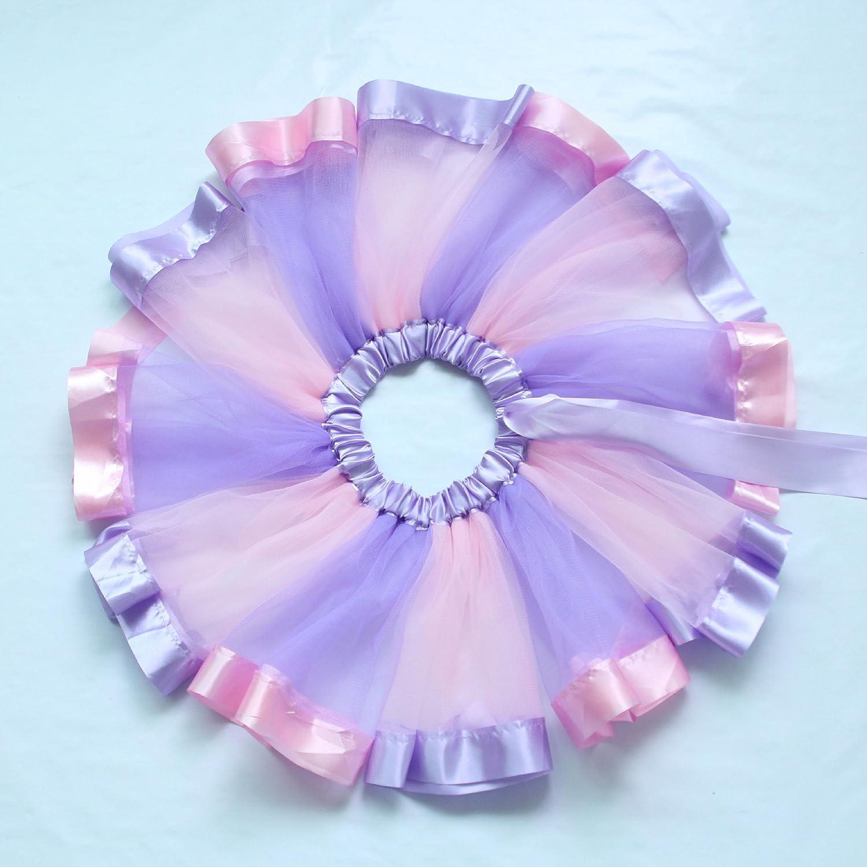 SAOMAI Vestido tutú de de baile, diseño B075QZS3CJ de tutú arcoíris ...
